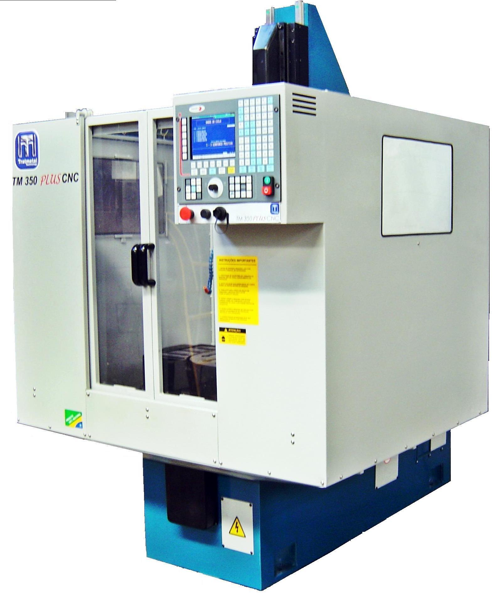 TM 350 PLUS CNC  de acordo NR-12. teste